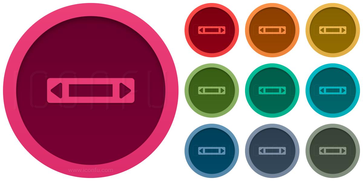 Scroll Bar Horizontal Icon