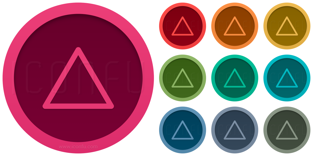 Shape Triangle Icon