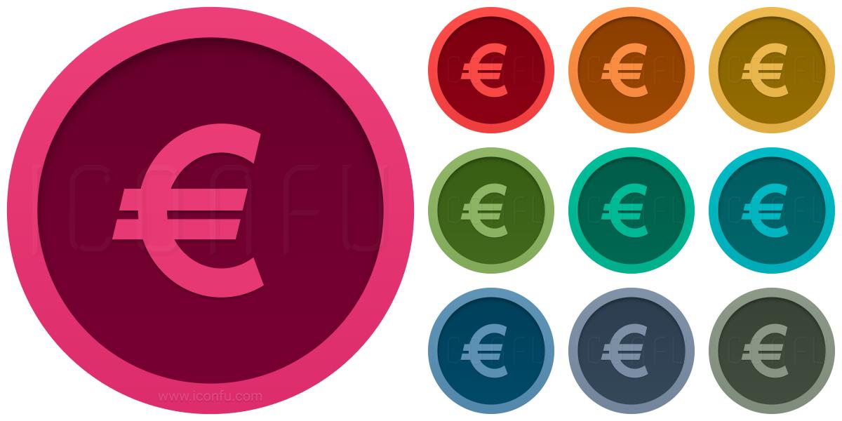 Symbol Euro Icon