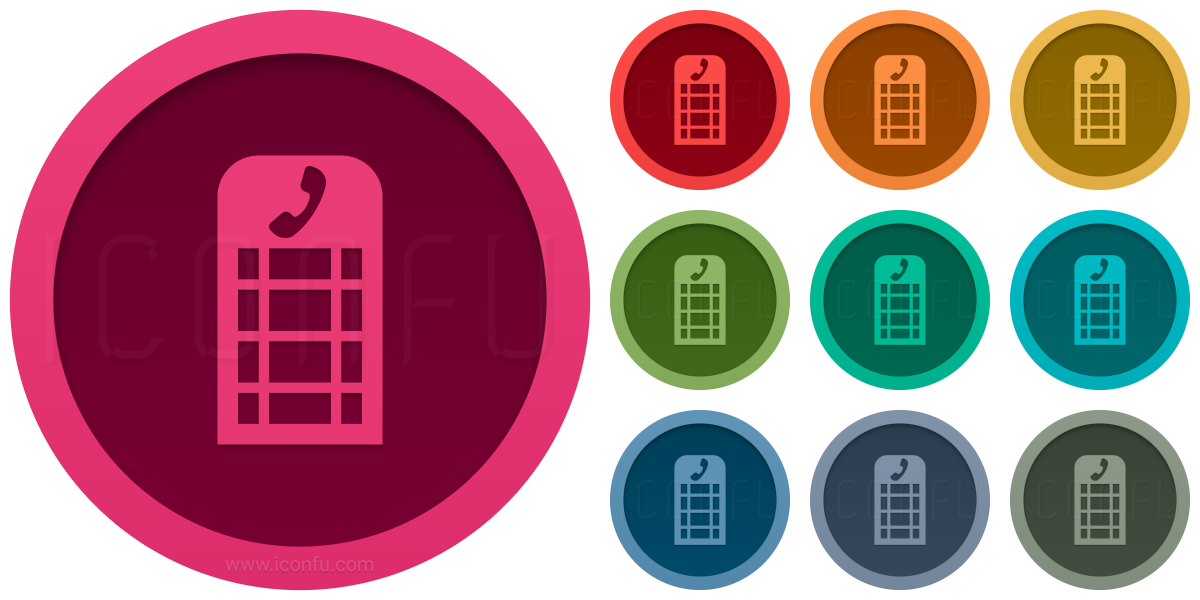 Telephone Box Icon
