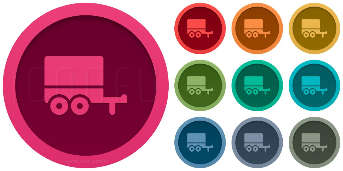 Truck Trailer Icon
