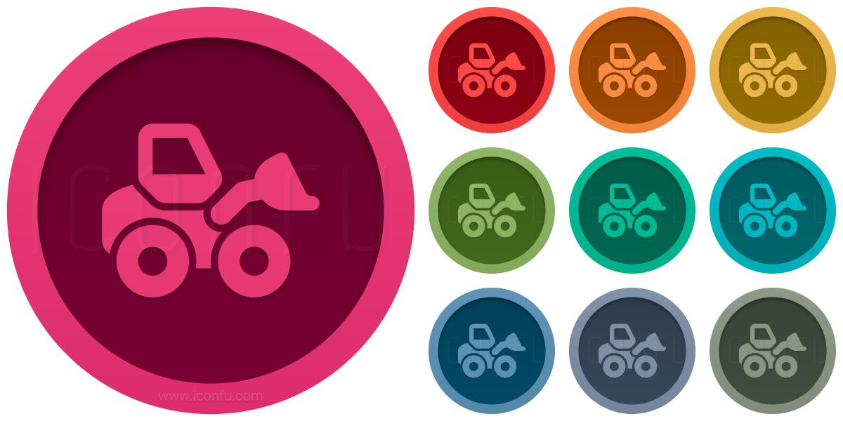 Wheel Loader Icon