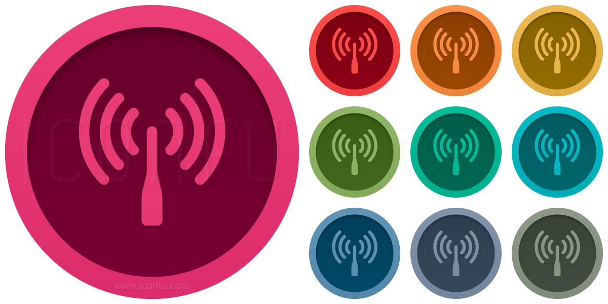 Wlan Antenna Icon