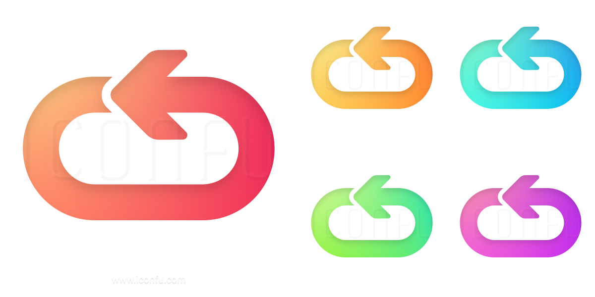 Arrow Oval Circle Icon