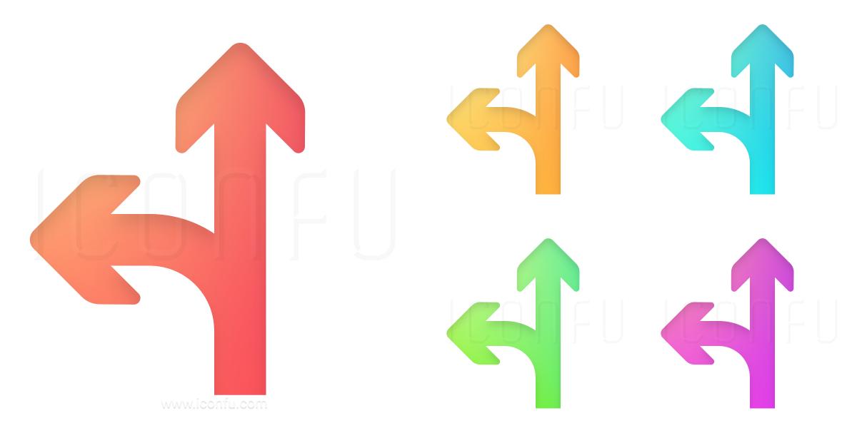 Arrows Junction Icon