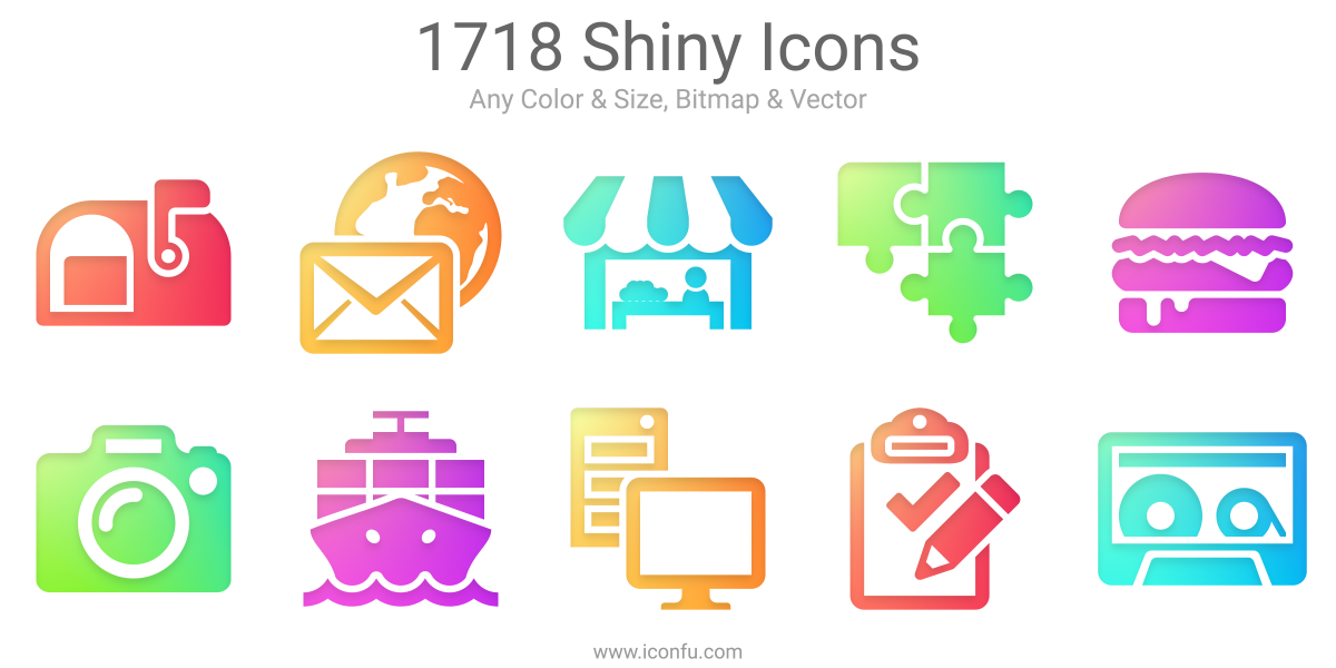 Shiny Icons
