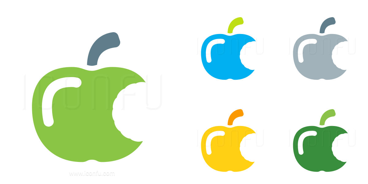 Apple Bite Icon