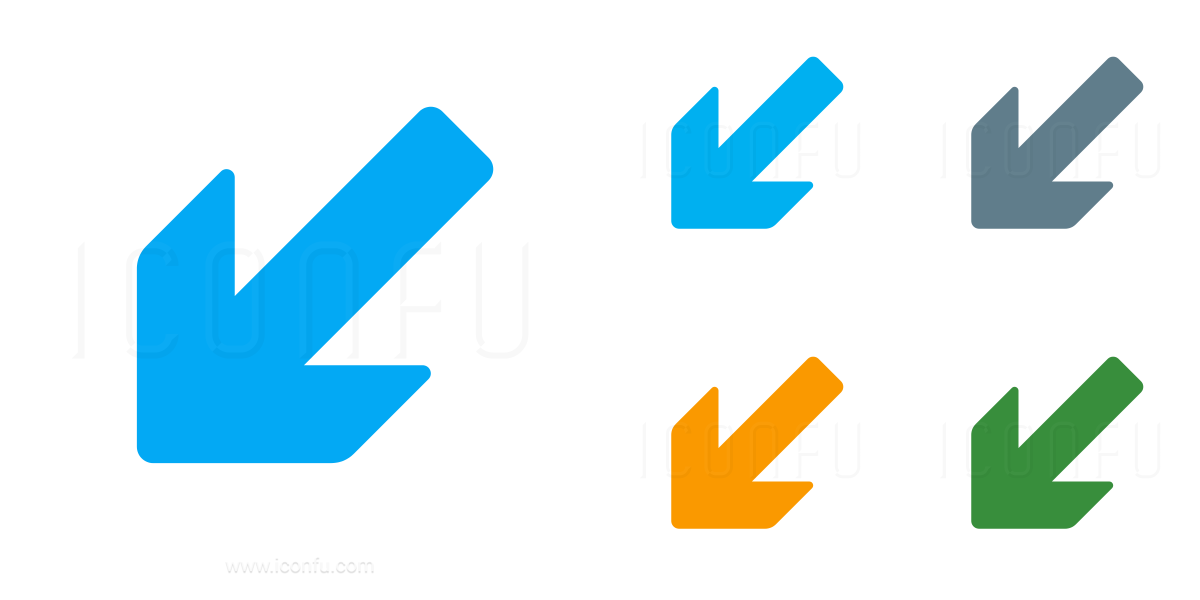 Arrow Down Left Icon