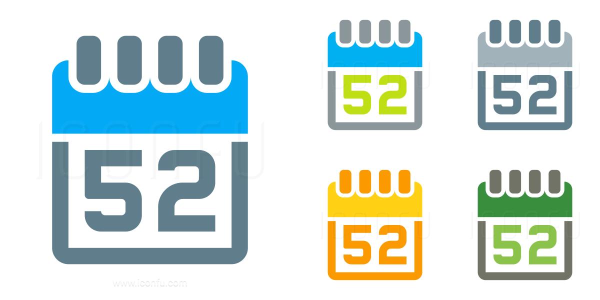 Calendar 52 Icon