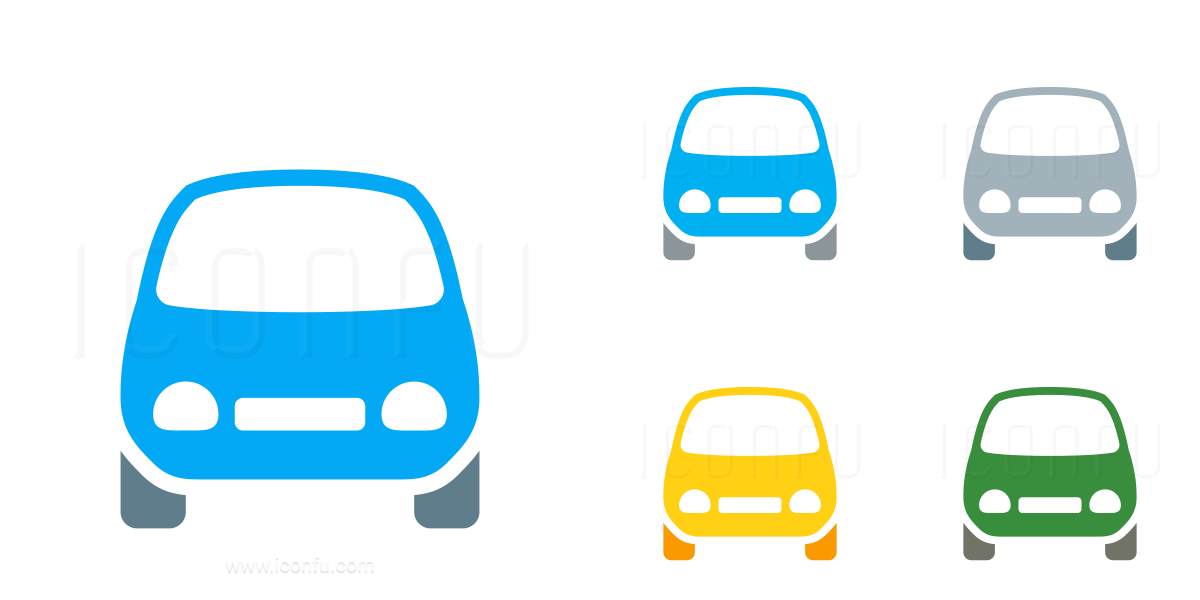 Car Compact Front Icon