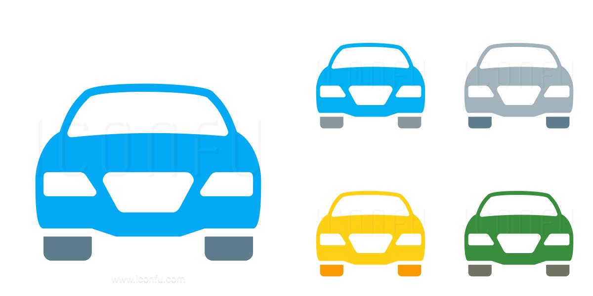 Car Sedan Front Icon
