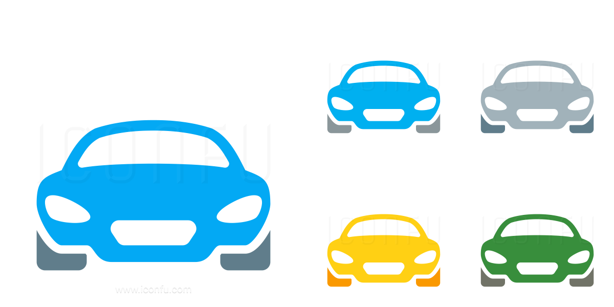 Car Sports Front Icon