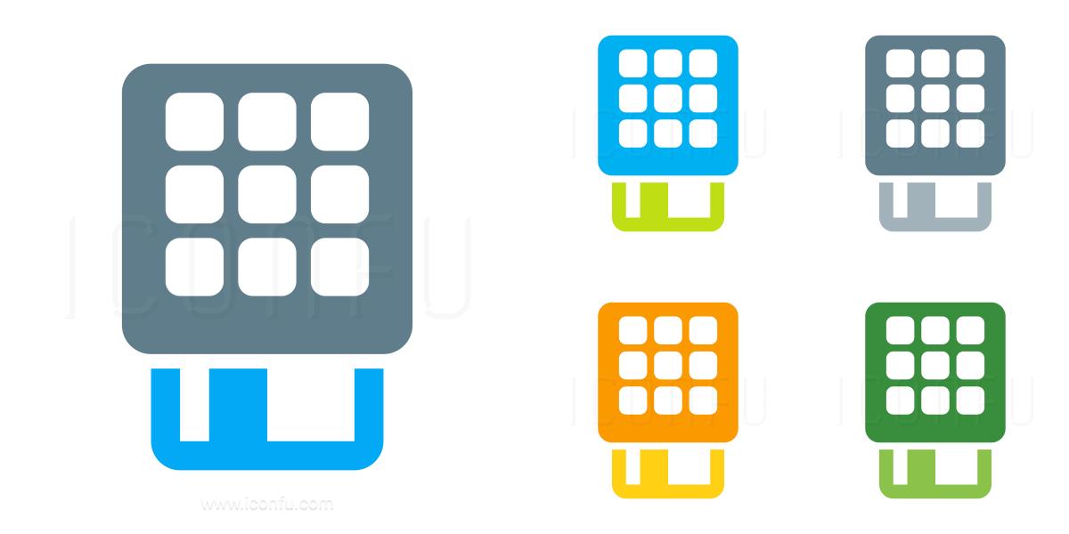 Card Terminal Card Icon