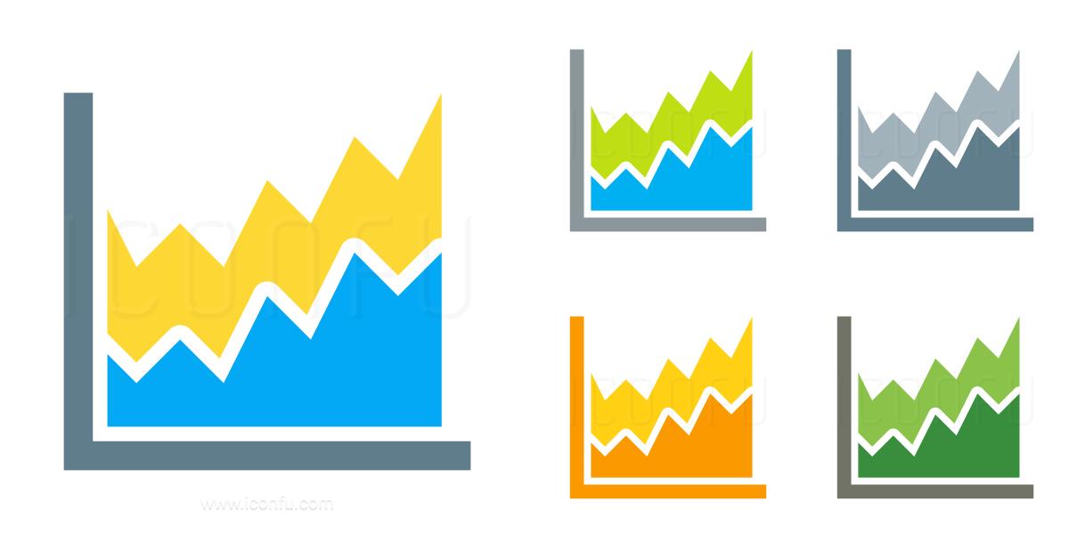 Chart Area Icon