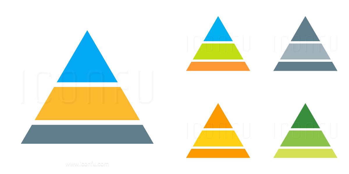 Chart Pyramid Icon
