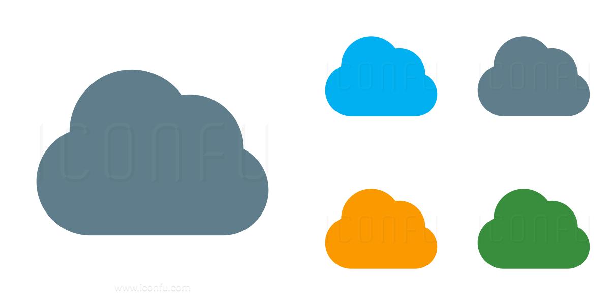 Cloud Dark Icon