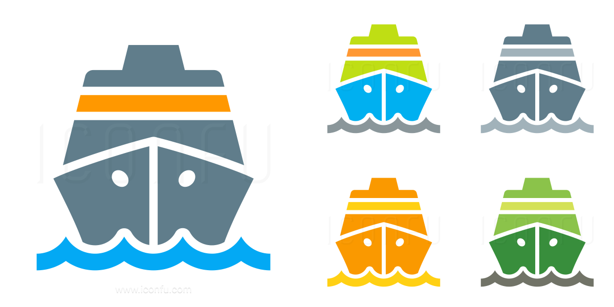 Cruise Ship Icon