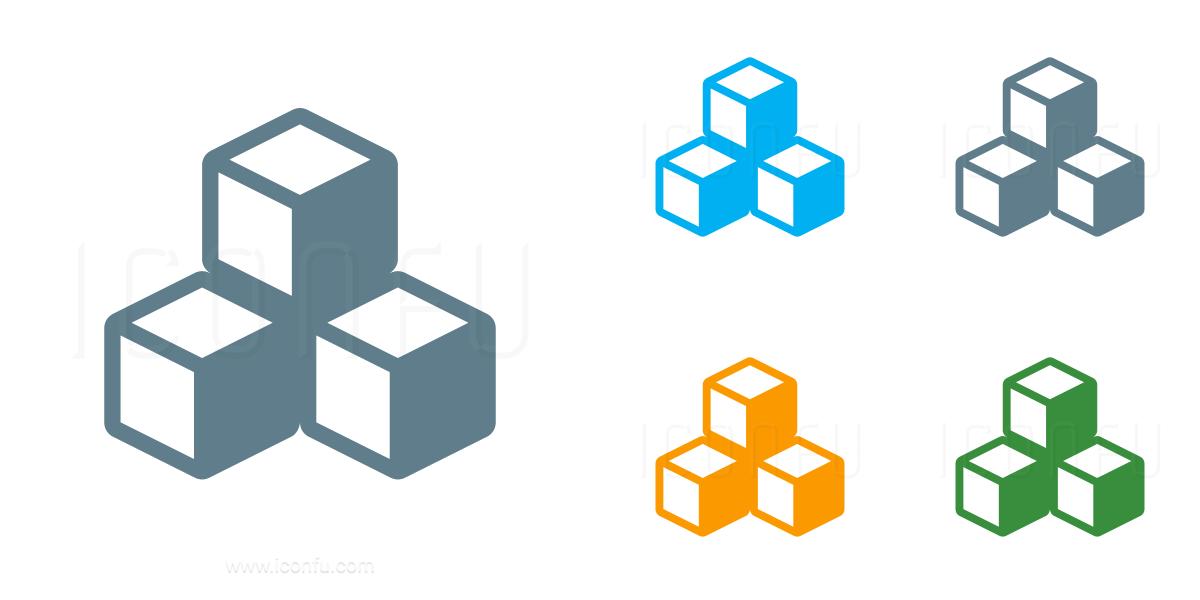 Cubes Icon
