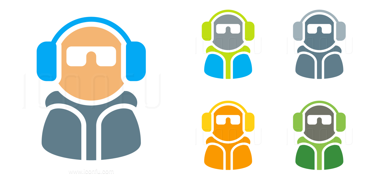 Dude Headphones Icon