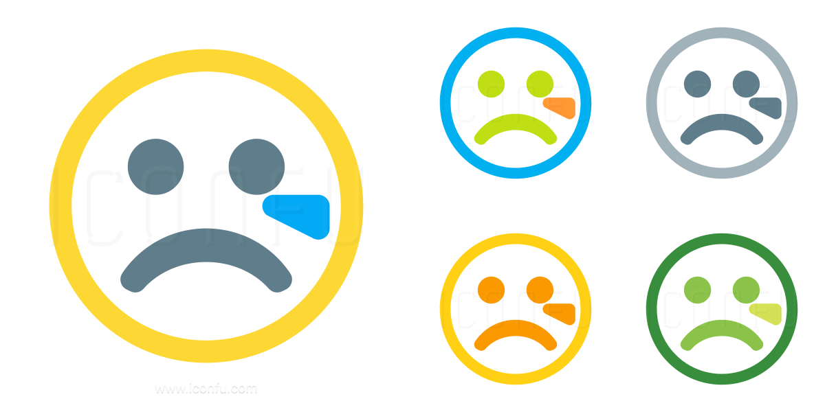 Emoticon Cry Icon