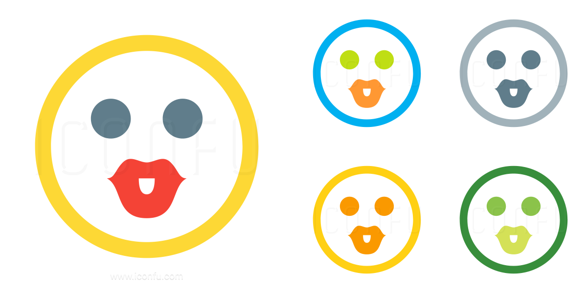 Emoticon Kiss Icon