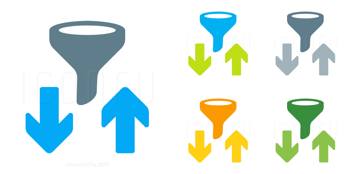 Filter And Sort Icon