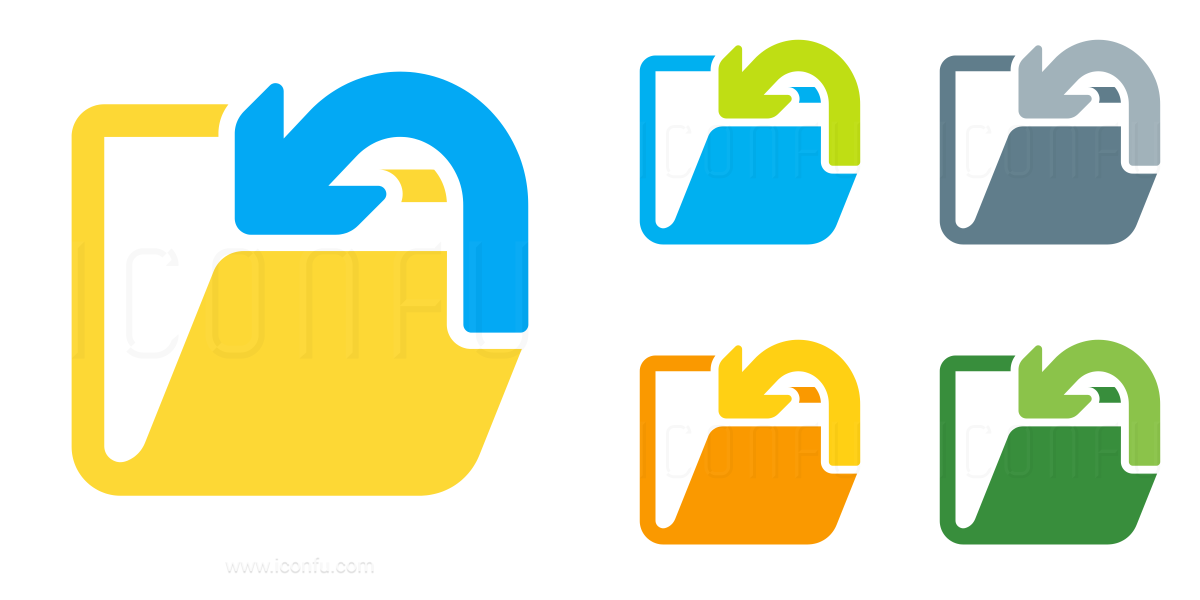 Folder Into Icon