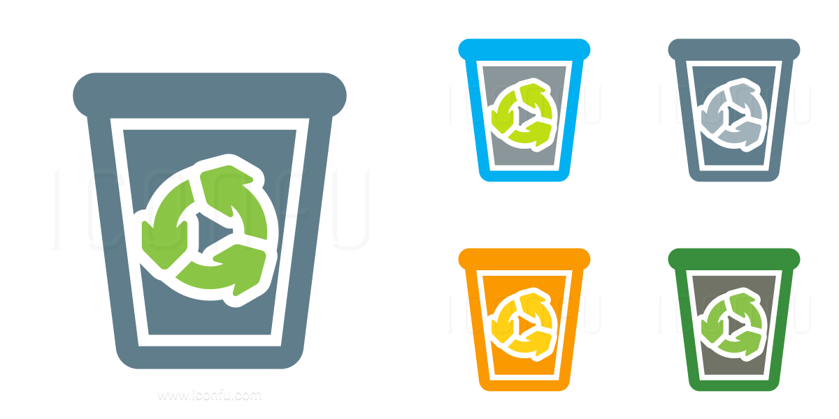 Garbage Full Icon