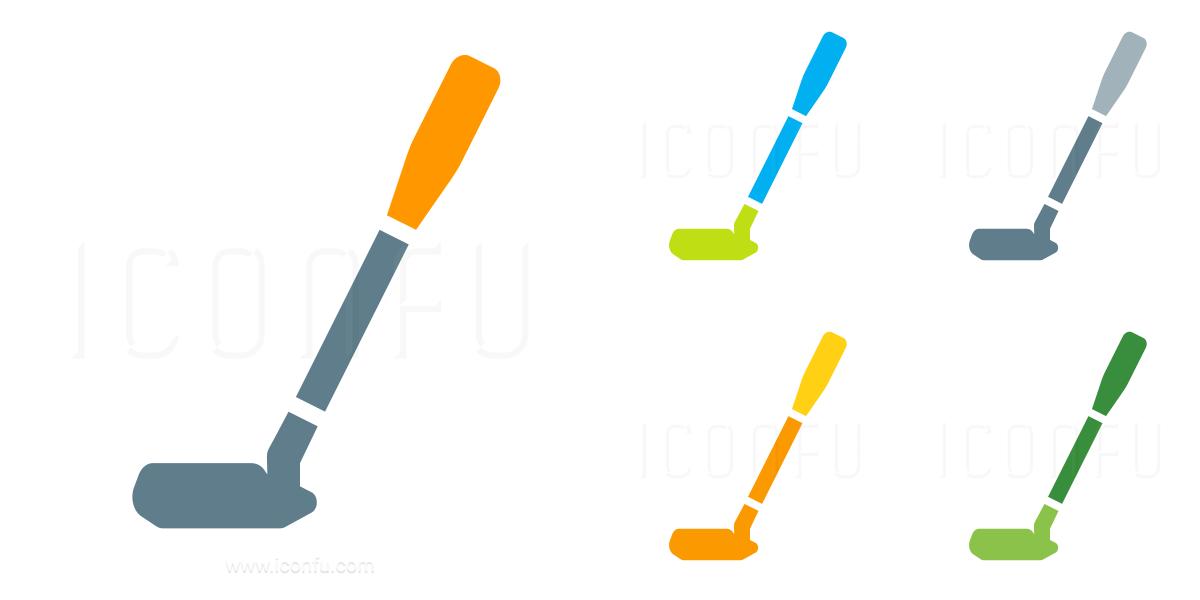 Golf Club Putter Icon