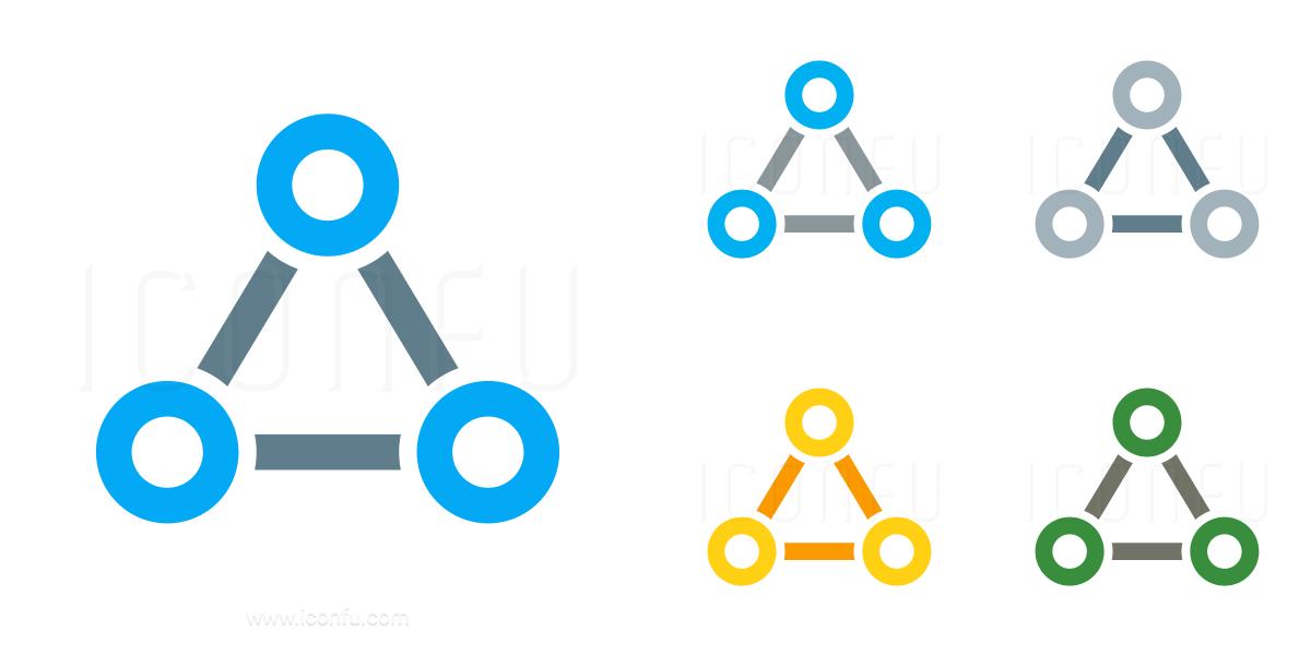 Graph Triangle Icon
