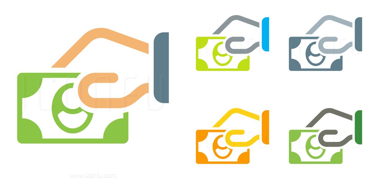 Hand Money Icon