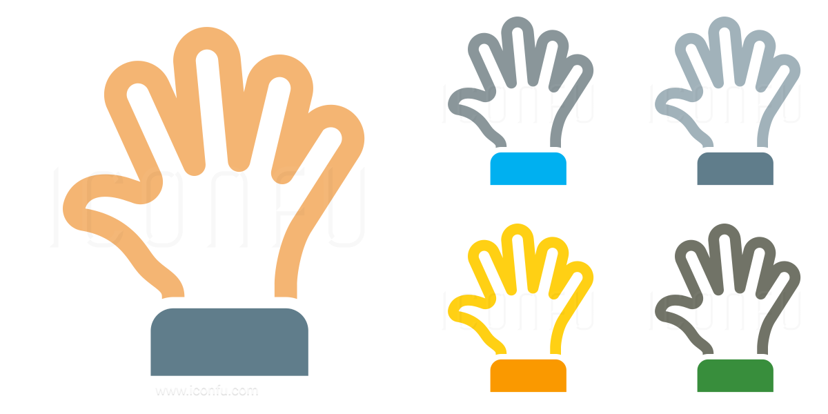 Hand Spread Icon