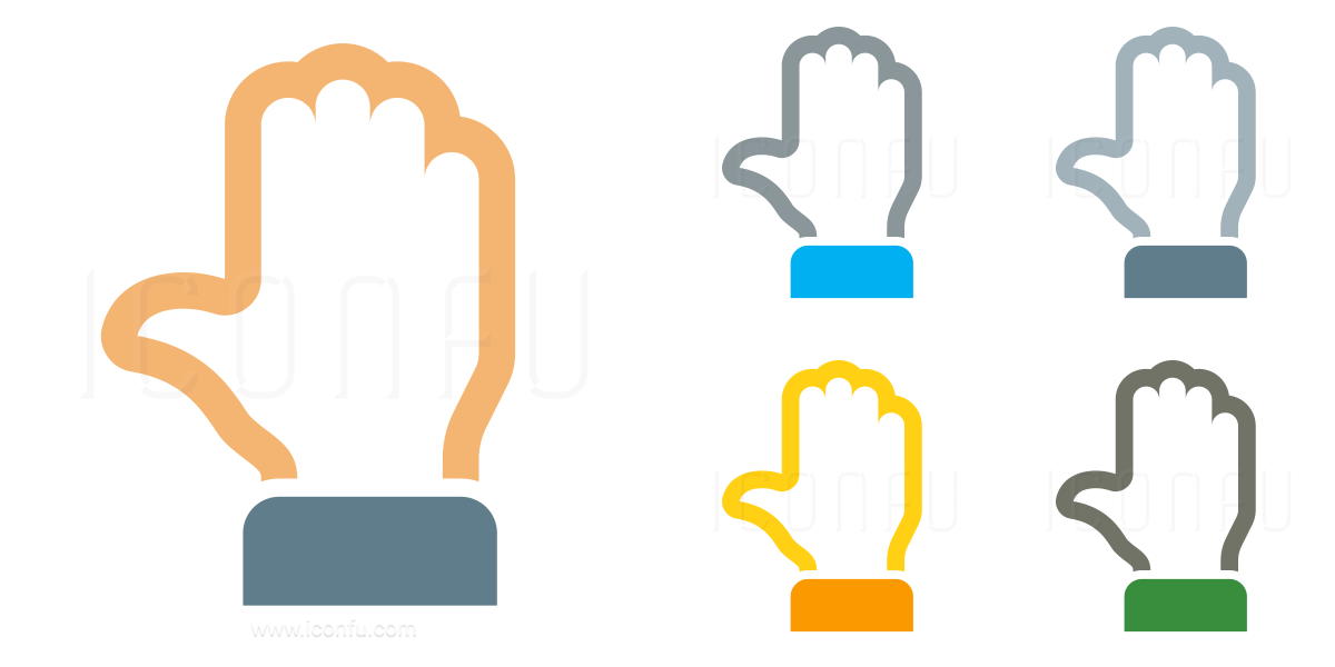 Hand Stop Icon
