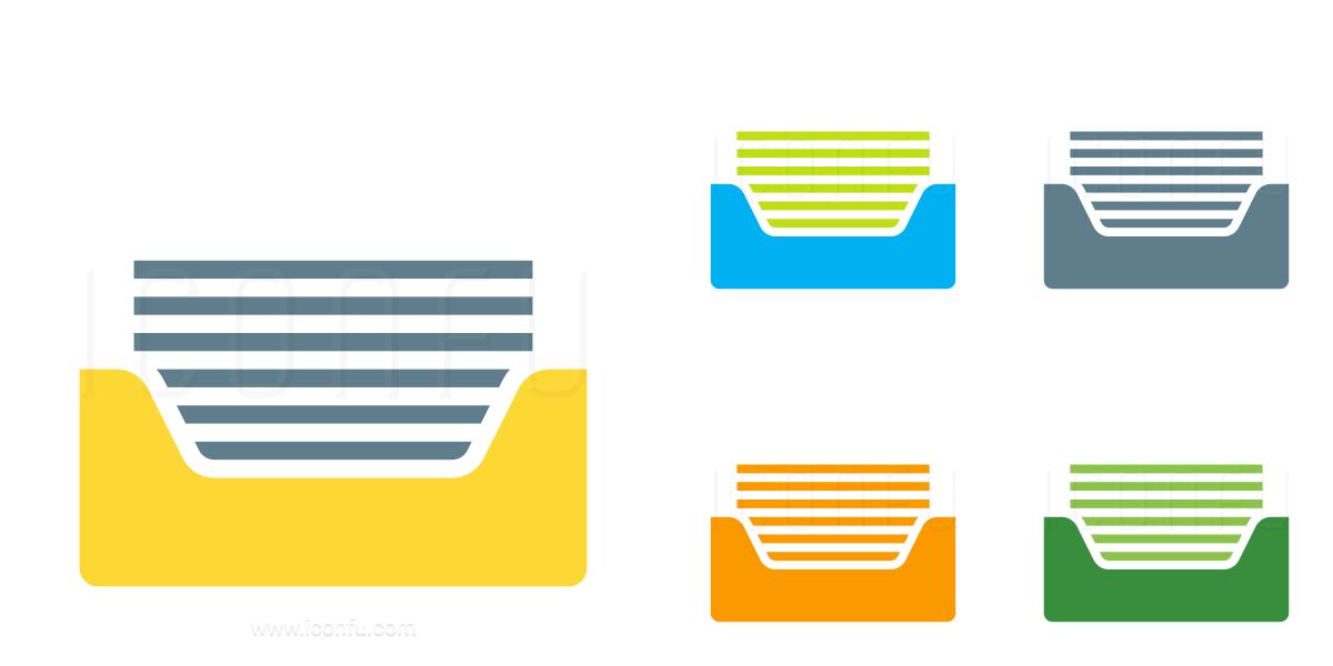 Inbox Full Icon