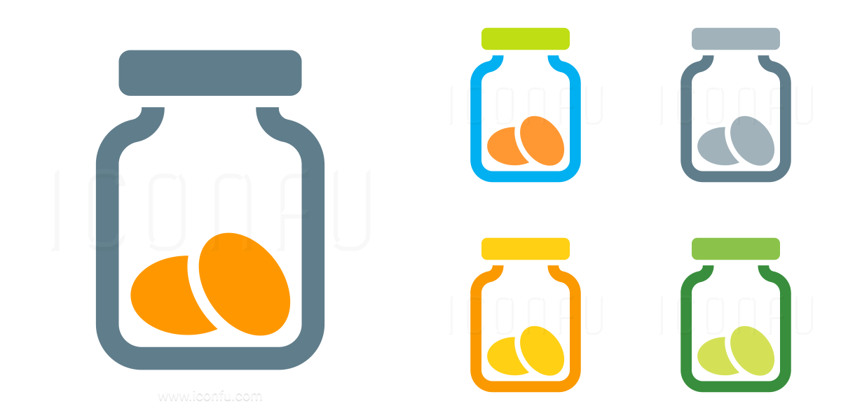 Jar Cookies Icon