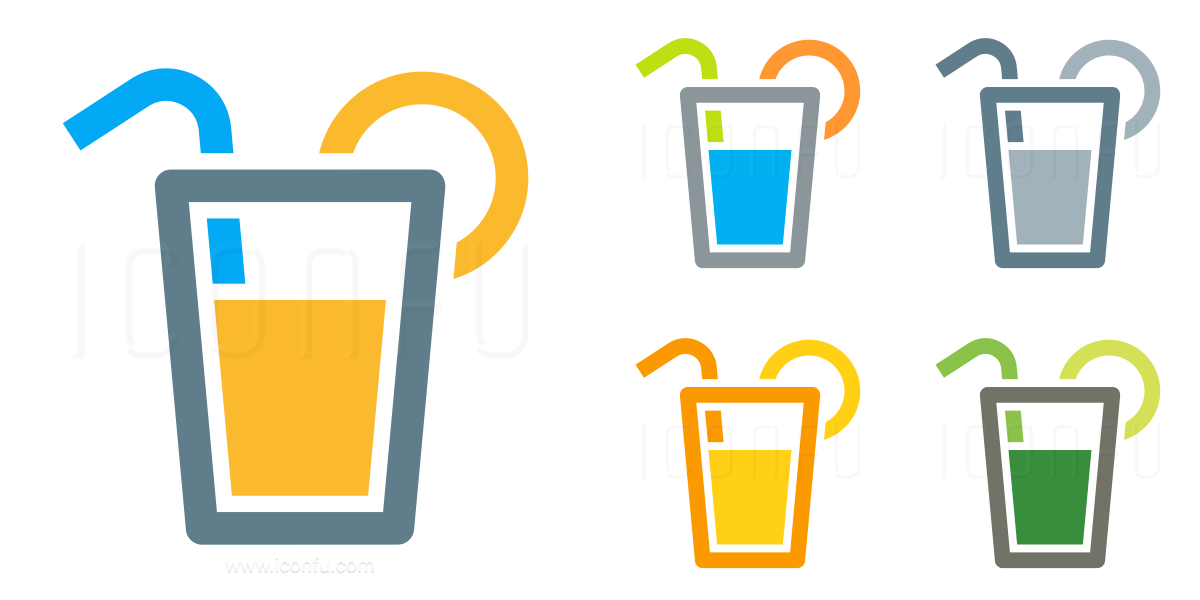 Lemonade Glass Icon