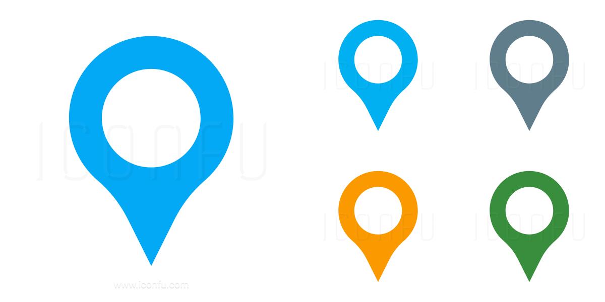 3400 Location pin icon