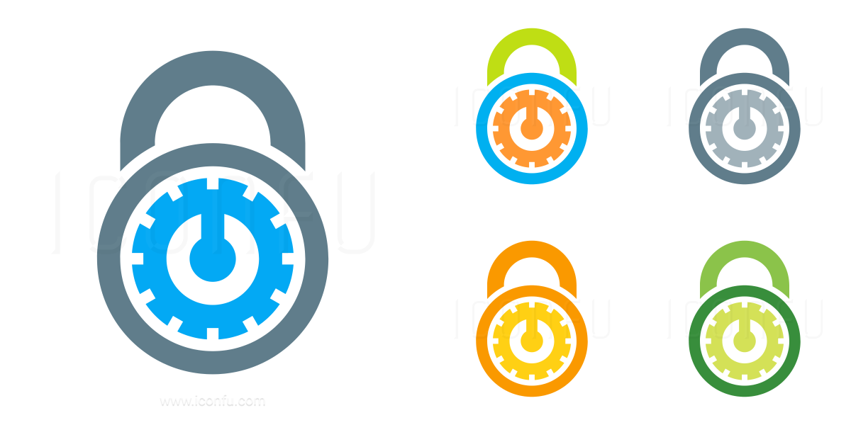 Lock Combination Icon