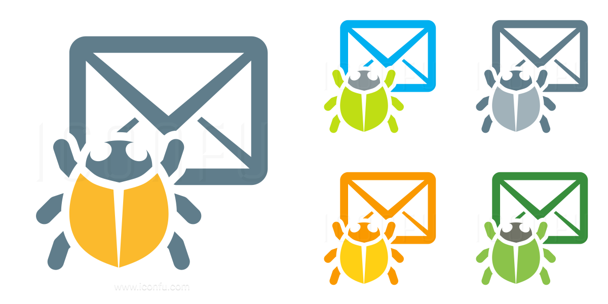 Mail Bug Icon