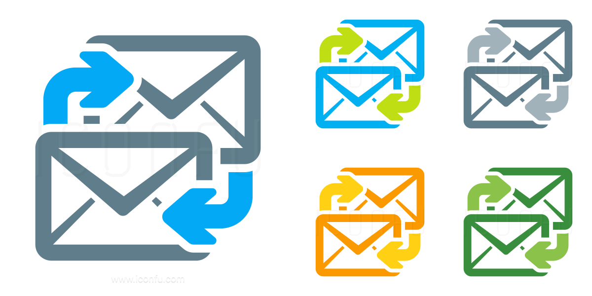 Mail Exchange Icon