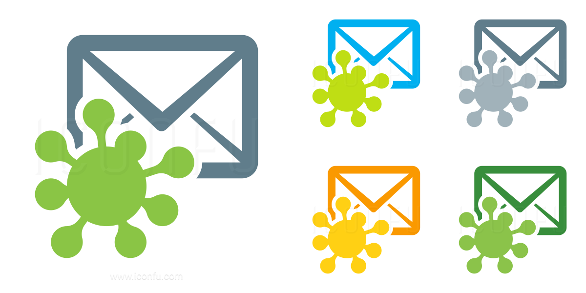 Mail Virus Icon