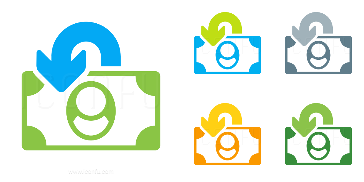 Money Bill Refund Icon