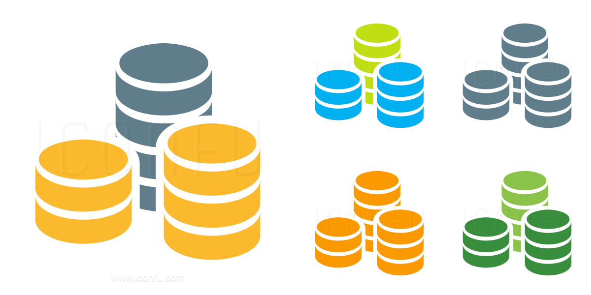 Money Coins Stacked Icon