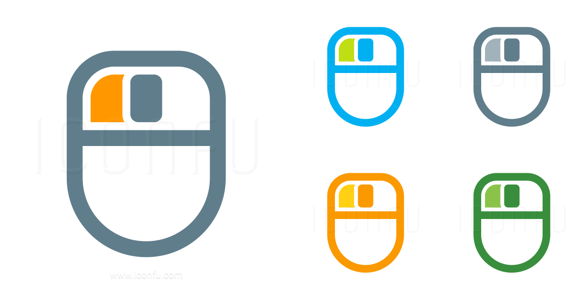 Mouse Left Button Icon