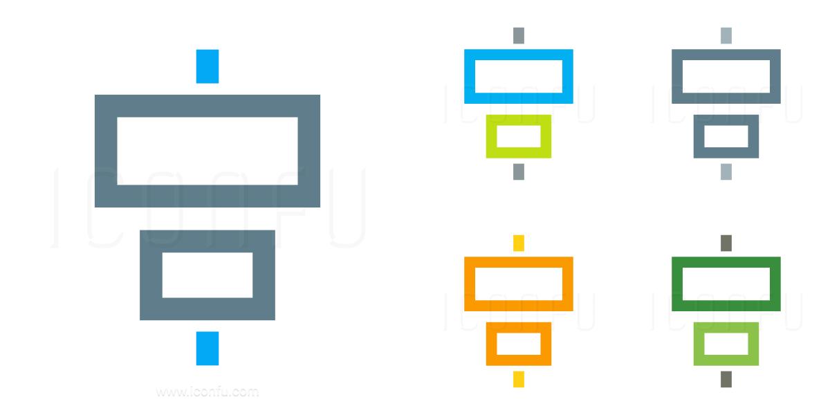 Object Alignment Horizontal Icon