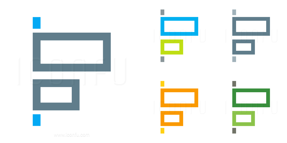 Object Alignment Left Icon