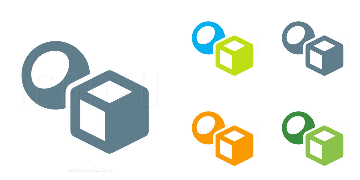 Objects Cube Ball Icon