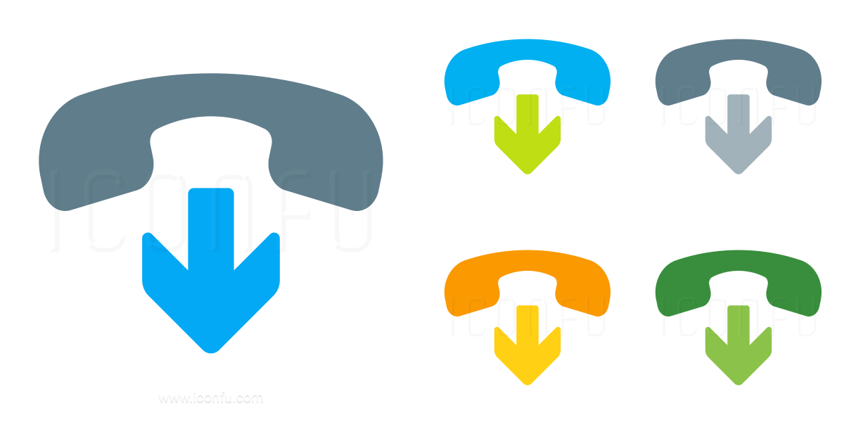 Phone Hang Up Icon
