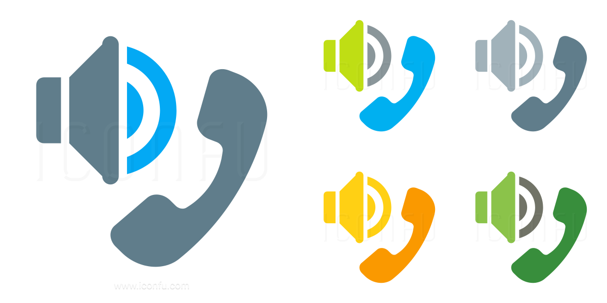 Phone Speaker Icon