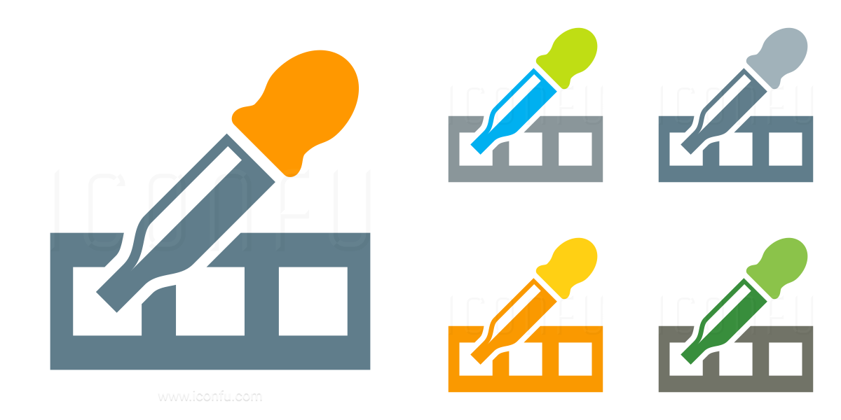 Pipette Test Icon